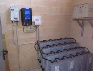 instalacion solar fotovoltaica garaio araba energias renovables aislada movilidad electrica coche electrico instalacion interior nueva